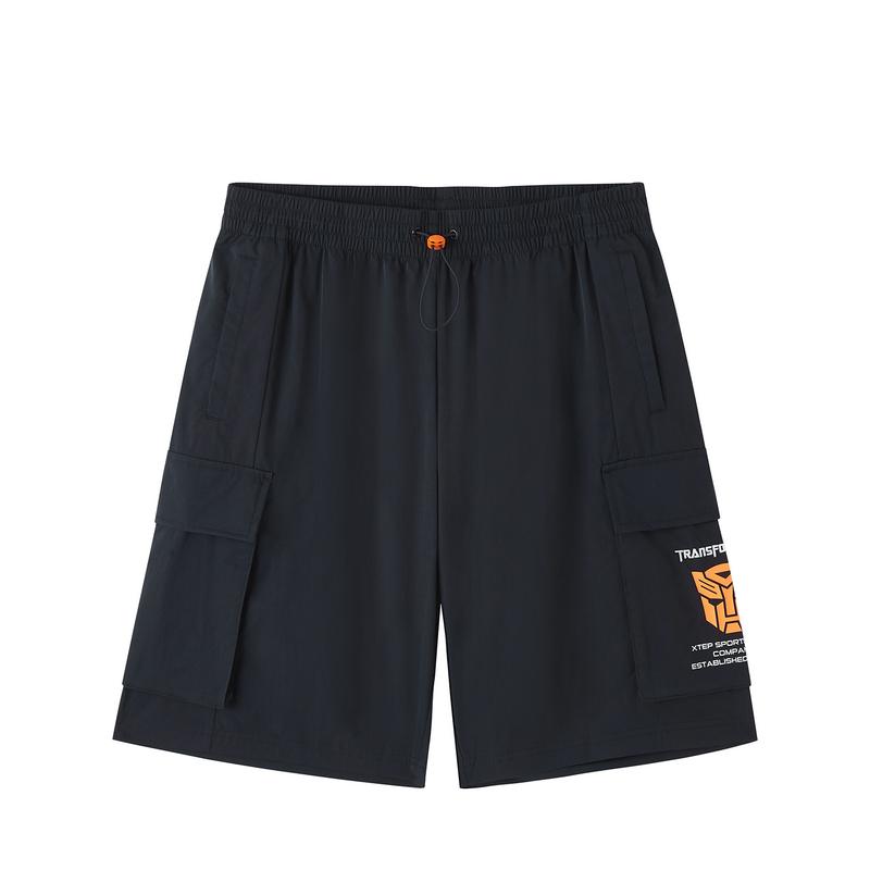 【变形金刚联名款】特步 专柜款 男子短裤 潮流时尚百搭跨界五分裤980229990517