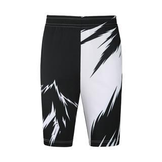 特步 男子中裤 20年新款篮球运动透气印花短裤880229610270