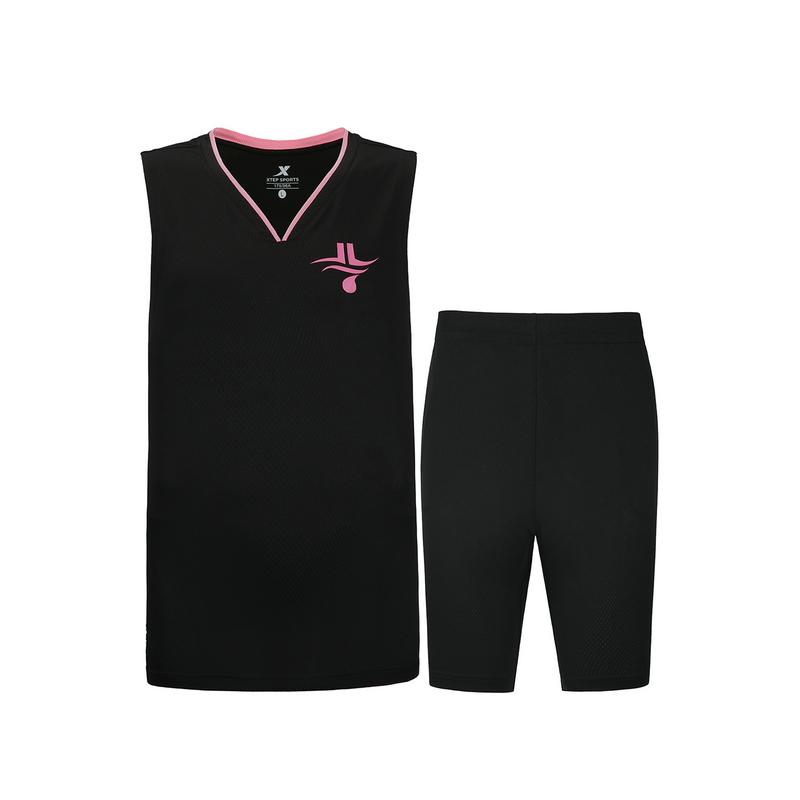 特步 男子套装 20年新款篮球运动背心短裤2件套880229820267
