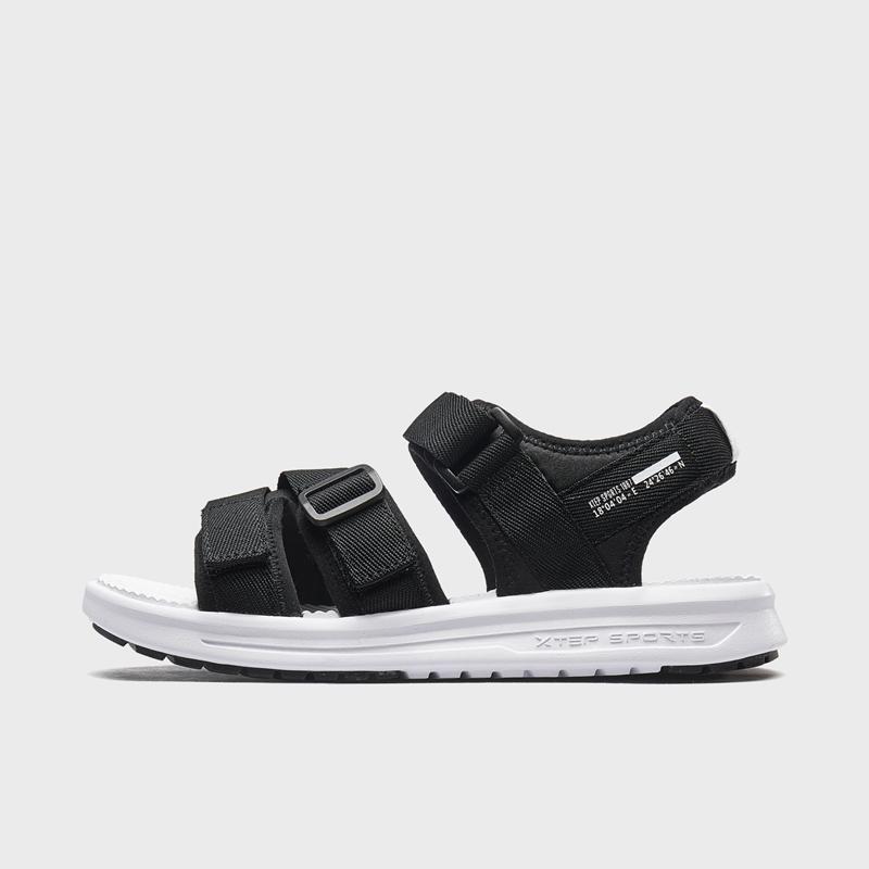 特步 女子凉鞋 新款潮流时尚百搭夏季沙滩凉鞋880218500128