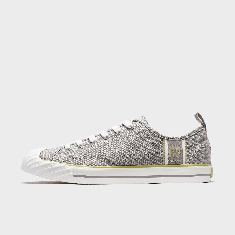 特步 男子帆布鞋 新款潮流经典百搭都市休闲时尚帆布鞋880219100068