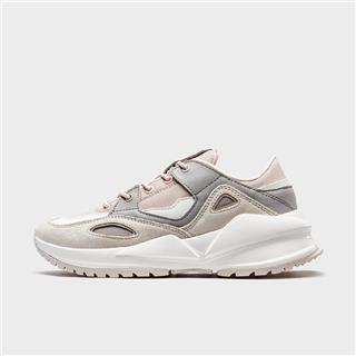 特步 专柜款 女子休闲鞋 20年新款拼色时尚百搭运动鞋980118393055