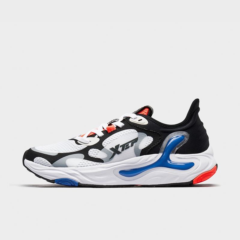 特步 男子跑鞋 【氢云科技】新款网面透气舒适大底缓震运动跑步鞋880219115332