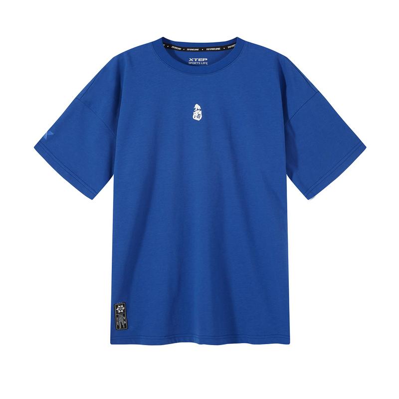 【山海系列】特步 男子短袖 20年新款针织衫潮流男T恤880229010277