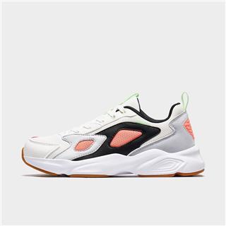 特步 女子休闲鞋 20年新款网面拼色透气时尚运动鞋880318325966