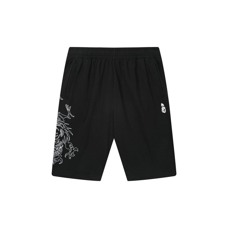 【山海系列】特步 男子中裤 20年新款针织潮流街头短裤880229610278