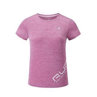 特步 专柜款 女子短袖针织衫 20年夏新款跑步健身透气T恤980228010302
