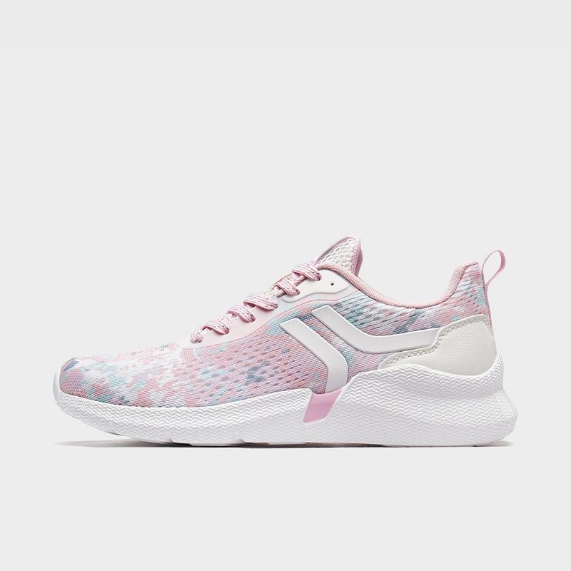 特步 专柜款 女子休闲鞋 20年新款网面透气运动鞋980218320378