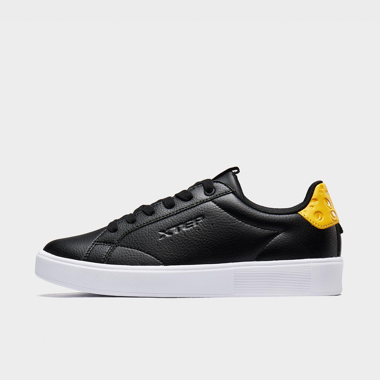 【猫和老鼠联名款】特步 女子板鞋 新款时尚奶酪尾休闲鞋880318310103