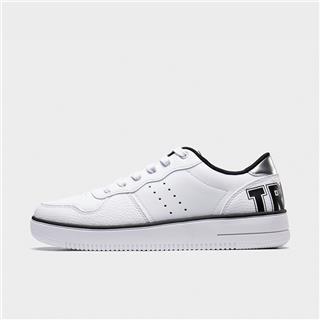 特步 专柜款 男子板鞋 20年新款潮流革面滑板鞋980219316370