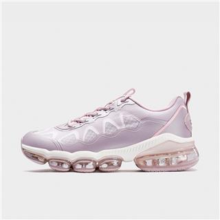 特步 女子跑鞋 新款增高减震防滑气垫2.0运动跑鞋880118115120