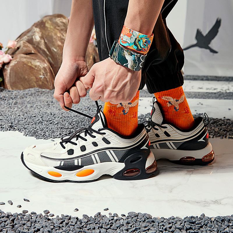 【山海系列】男子休闲鞋 新款山海鸾鸟休闲鞋气垫鞋潮流老爹鞋子880319320017