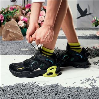 【山海系列】特步 男子休闲鞋 新款山海精卫老爹鞋潮流百搭休闲鞋880319320062