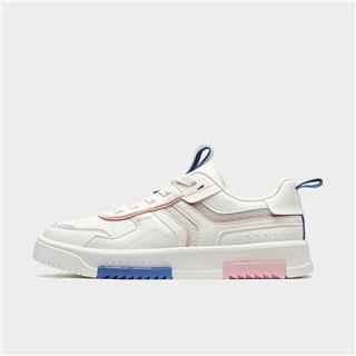 特步 女子板鞋 新款都市休闲时尚潮流撞色百搭板鞋880218315052