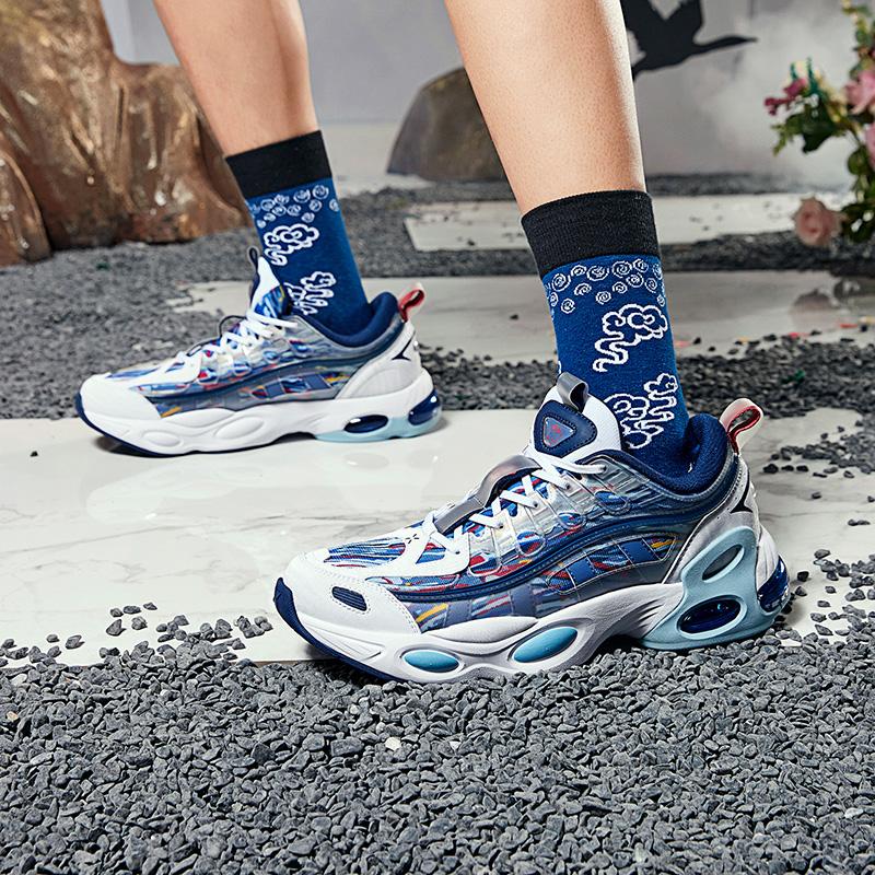 【山海系列】特步 男子休闲鞋 20年新款时尚潮流气垫老爹鞋880319320093