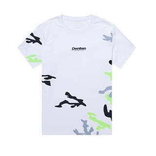 特步 专柜款 男子短袖 都市潮流时尚新款百搭针织衫短袖T恤980329010254