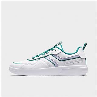 特步 男子板鞋 20年新款时尚透气舒适小白鞋880319316010
