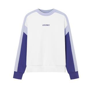 特步 专柜款 女子卫衣 都市活力潮流时尚新款套头卫衣980328920194