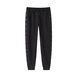 特步 专柜款 女子长裤 都市休闲时尚百搭小脚裤针织长裤980328630308