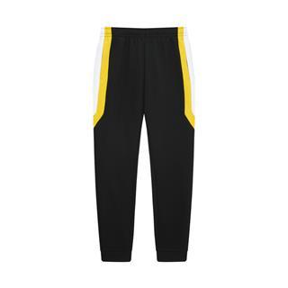 特步 专柜款 女子长裤 活力时尚百搭休闲拼接撞色针织长裤980328630156