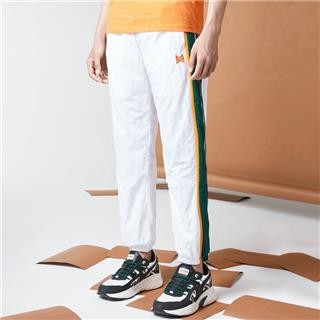 特步 男子梭织长裤 20年新款时尚侧边条纹收口裤880329980154