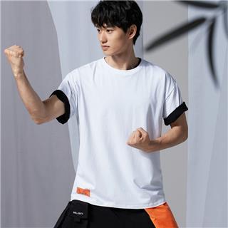 【少林联名款】特步 男子短袖 20年新款时尚定制款宽松T恤880227010279sl
