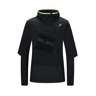 特步 专柜款 男子运动2件套 20年新款舒适透气休闲运动套装980329760417