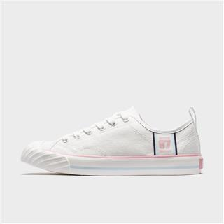 特步 女子帆布鞋 20年新款生活表现系列百搭休闲鞋板鞋880218100068