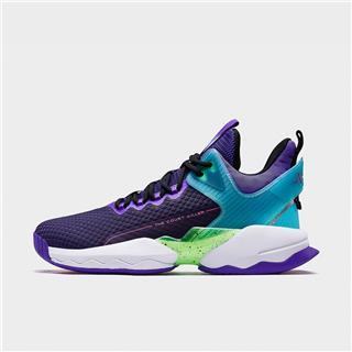 【林书豪同款】特步 专柜款 男子篮球鞋 20年新款联名高帮室内运动鞋980319121329