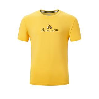 特步 专柜款 男子短袖 运动百搭透气综训短袖T恤980329010065