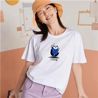【特步助力高考定制款】特步 男女短袖 20年新款定制休闲运动T恤880227010309gk