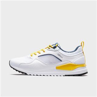 特步 男子休闲鞋 20年新款百搭网革拼接透气休闲运动鞋880319326052