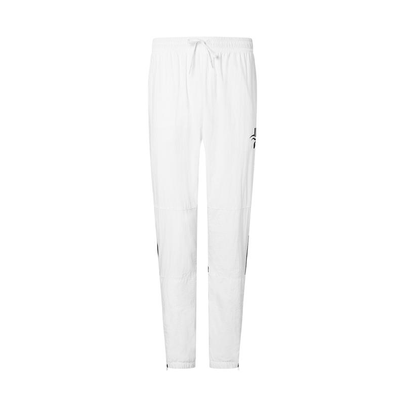 特步 专柜款 男子长裤 林书豪同款篮球运动舒适透气梭织长裤980329980569