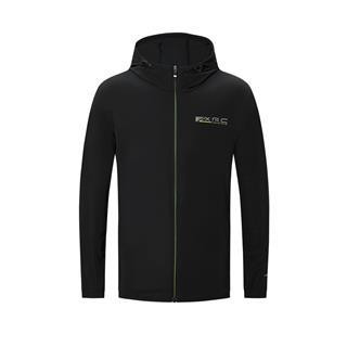 特步 专柜款 男子针织上衣 新款跑步运动时尚连帽针织上衣980329940390