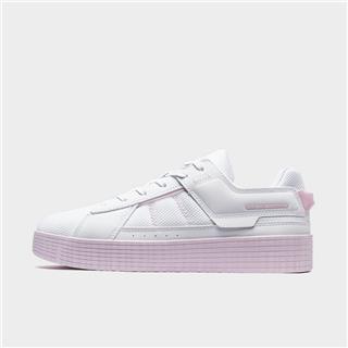特步 女子板鞋 20年新款时尚耐磨舒适板鞋880318316056