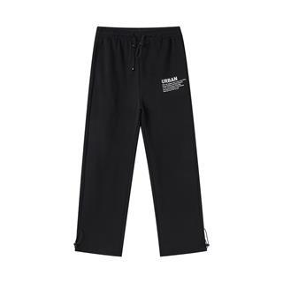 特步 女子长裤 20年新款针织纯棉透气小脚收脚运动裤880328630091