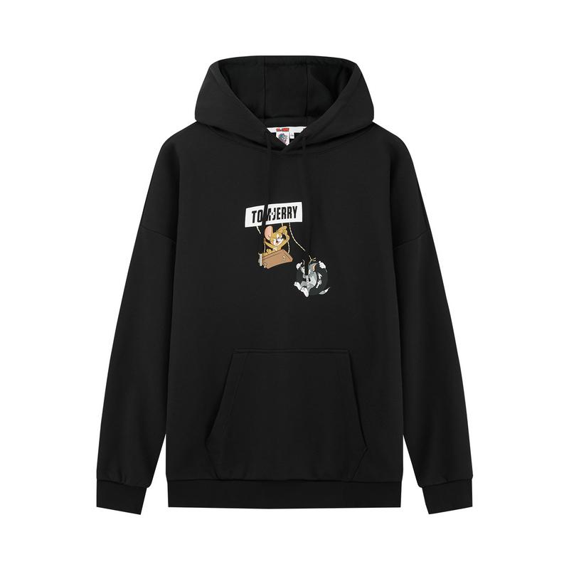 【猫和老鼠联名】特步 男子卫衣 新款男女同款中性时尚活力带帽卫衣880327050126