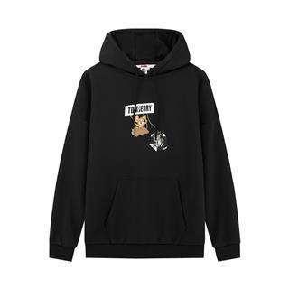 【猫和老鼠联名】特步 男子卫衣 20年新款男女同款中性时尚活力带帽卫衣880327050126