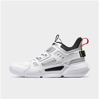 特步 男子篮球鞋 20年新款时尚革面室内高帮运动鞋880319120082