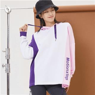 特步 女子卫衣 20年新款连帽抽绳时尚套头衫880328050089