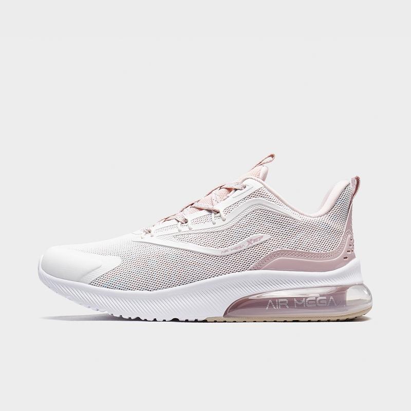 特步 专柜款 女子跑鞋 20年新款时尚半掌气垫科技运动鞋980318110658