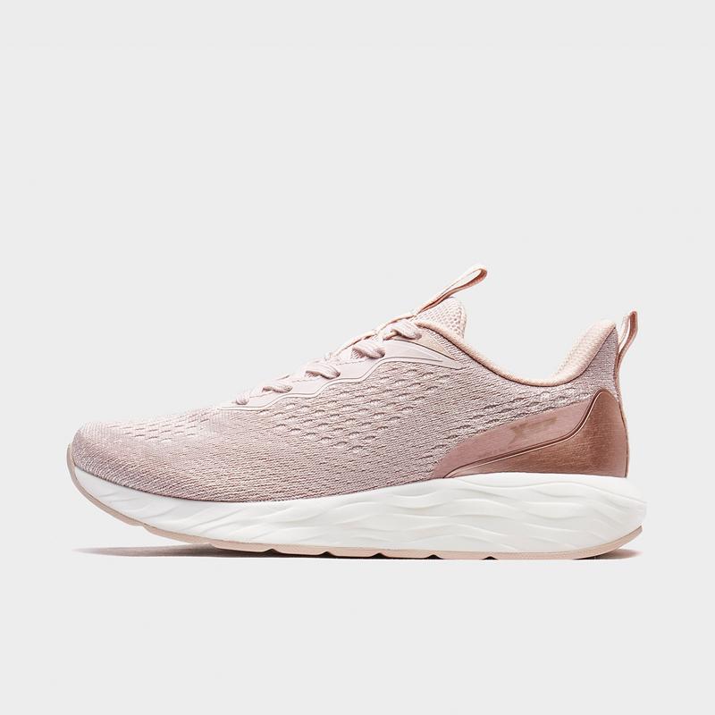 特步 专柜款 女子跑鞋 新款动力巢科技网面运动鞋980318110687