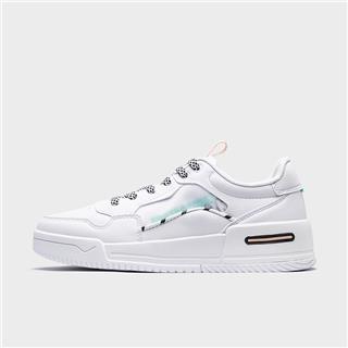 特步 专柜款 女子板鞋 20年新款时尚潮流百搭小白鞋980318316709