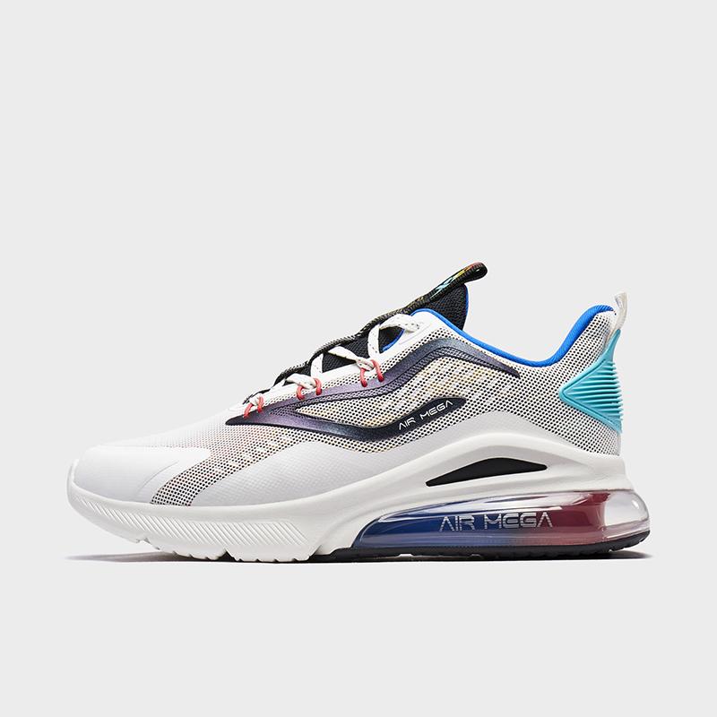 特步 专柜款 男子跑鞋 20年新款时尚半掌气垫科技运动鞋980319110658