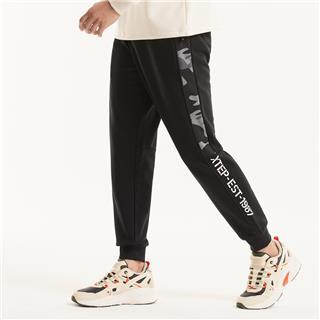 特步 男子长裤 20年新款针织都市休闲运动裤子880329630009