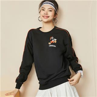 【猫和老鼠联名款】特步 女子卫衣 20年新款都市时尚百搭潮流卫衣880328920141