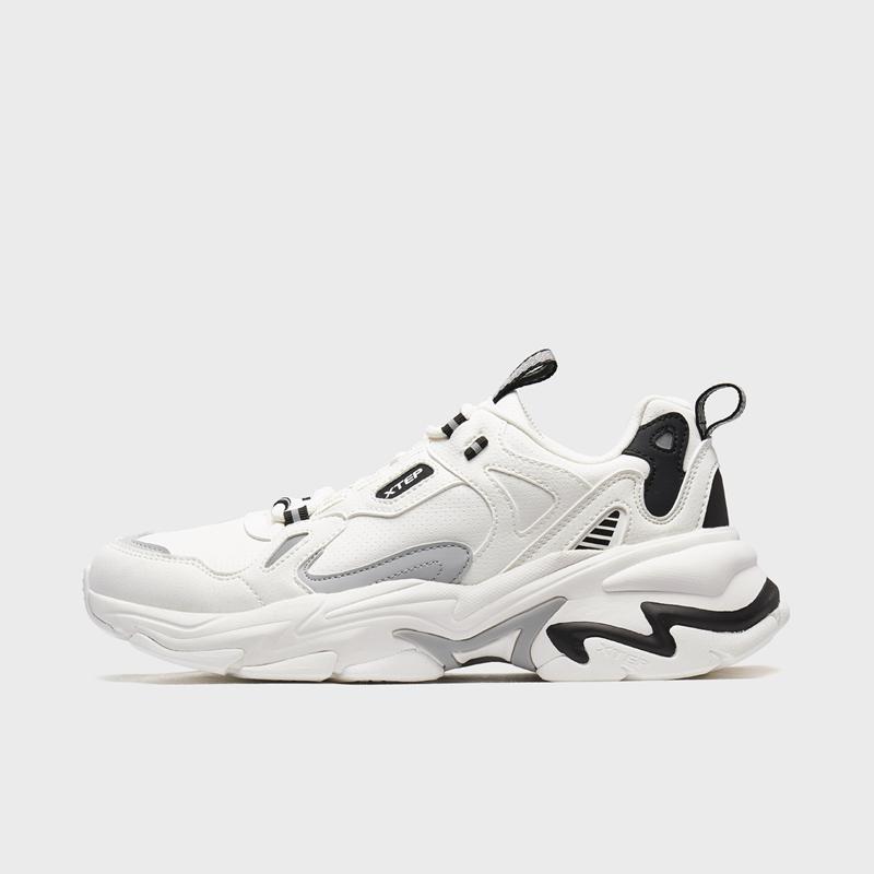 特步 专柜款 男子休闲鞋 20年新款时尚潮流运动鞋980319320601