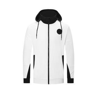 【林书豪同款】特步 男子风衣夹克 20年新款联名双层连帽夹克980329120353