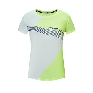 特步 专柜款 女子短T恤 20年新款活力透气运动针织衫980328010443