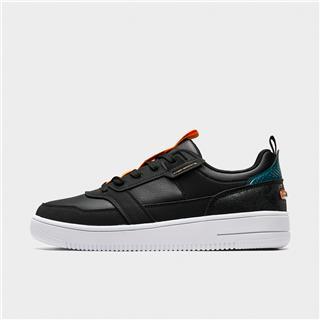 特步 男子板鞋 20年新款革面耐磨撞色潮流休闲板鞋880419310026